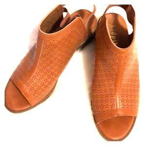 Open Toe Sling Back Shoes
